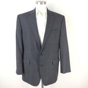 Chaps Ralph Lauren Charcoal gray Blazer Jacket 44